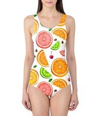 summer fruits women's swimsuit