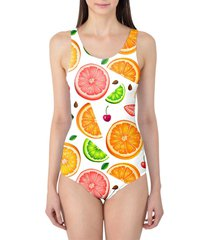 summer fruits women's swimsuit