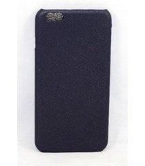 new cole haan leather case hatch marine blue apple iphone 6 plus & 6s plus
