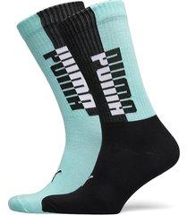 puma men seasonal sock 2p underwear socks regular socks blå puma