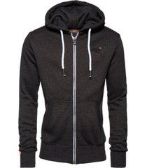 superdry men's zip-up hoodie