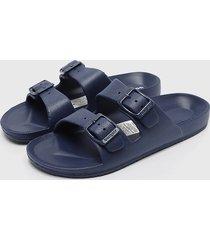 sandalia azul bamers
