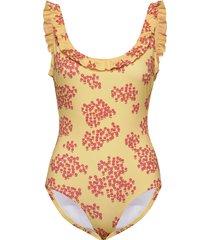 paya swimsuit badpak badkleding geel lovechild 1979