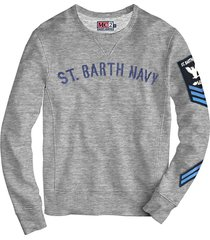 grey sweatshirt patch