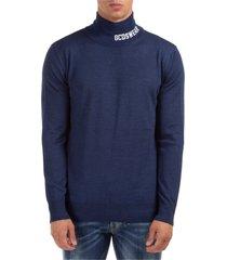maglione maglia uomo girocollo logo