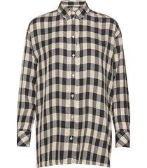 loreta shirt 11479 overhemd met lange mouwen geel samsøe samsøe
