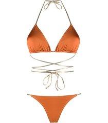 reina olga reversible bikini - pink