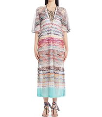 missoni zigzag cover-up dress, size medium in mare at nordstrom