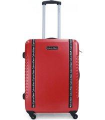 maleta jackson rojo 28 calvin klein
