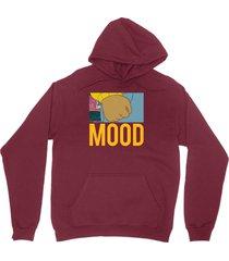 lebron mood shirt lbj instagram arthur fist unisex burgundy hoodie sweatshirt
