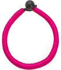 pulseira fran cor: rosa pink - tamanho: único