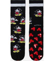 calzedonia disney pattern non-slip cotton socks man print size tu
