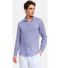 peninsula swimwear shirt teulada linen