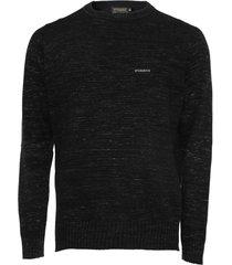 suéter opera rock tricot liso preto - kanui