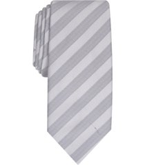 alfani men's slim stripe tie, created for macy's