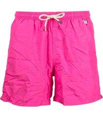 mc2 saint barth plain swim shorts - pink