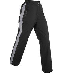 pantaloni termici imbottiti (nero) - bpc bonprix collection