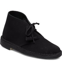 desert boot shoes boots ankle boots ankle boots flat heel svart clarks originals