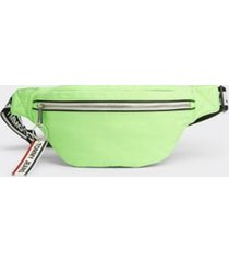 tommy hilfiger men's logo tape fanny pack green gecko -