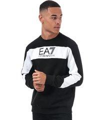mens embossed logo sweatshirt