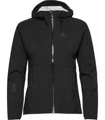 lightning wp jkt w black outerwear sport jackets svart salomon