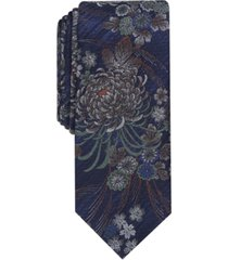 bar iii men's chrysanthemum slim tie, created for macy's