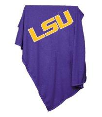 logo brands l.s.u. sweatshirt blanket