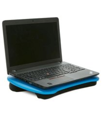 mind reader portable laptop lap desk with handle, built