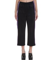 marc jacobs pants in black polyester