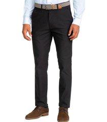 pantalón casual azul marino guy laroche