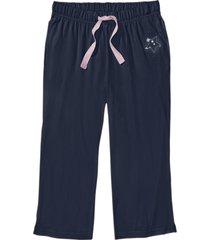 pantaloni pigiama a pinocchietto (blu) - bpc bonprix collection