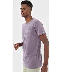 camiseta rvca pigment dye lilã¡s - lilã¡s - masculino - dafiti