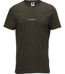ethan print tee 3208 t-shirts short-sleeved grön nn07