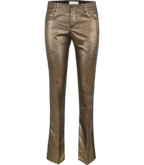 faith connexion lurex trousers