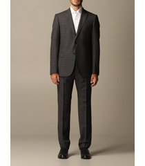 emporio armani suit emporio armani single-breasted suit in check wool 230 gr drop 7
