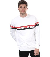 mens band logo sweatshirt