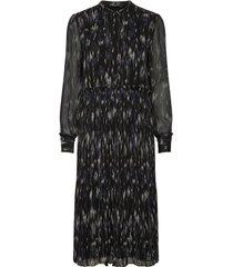 blur miley dress knälång klänning blå bruuns bazaar