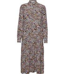 coleen knälång klänning multi/mönstrad six ames