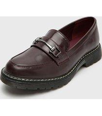 zapato burdeo new walk