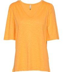 pzlerche t-shirt t-shirts & tops short-sleeved gul pulz jeans