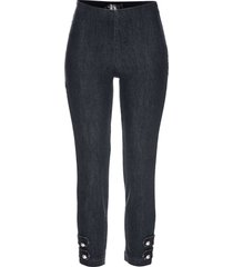 jeans cropped con perle (nero) - bpc selection