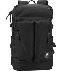 mochila scripps backpack all black nylon nixon