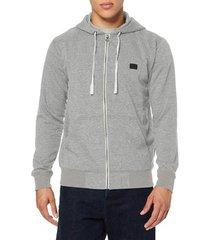 sweater billabong men's all day zip hoodie