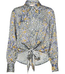 brennakb shirt overhemd met lange mouwen multi/patroon karen by simonsen