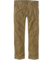 5-pocket stretch twill pants, field khaki, 42, inseam: 34 inch