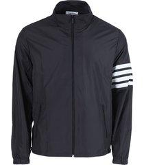 4-bar zip-up tech jacket