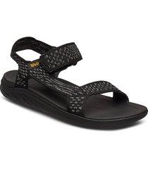m terra-float 2 knit evolve shoes summer shoes sandals svart teva
