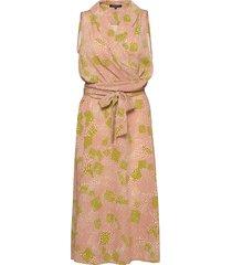 dress knälång klänning rosa ilse jacobsen