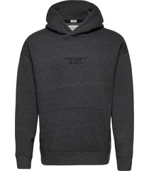 anf mens sweatshirts hoodie grå abercrombie & fitch