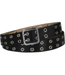 calvin klein women's casual double grommet belt